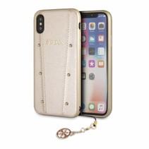 Guess Achterkant voor Apple iPhone X-Xs  -  Goud (3700740432488)