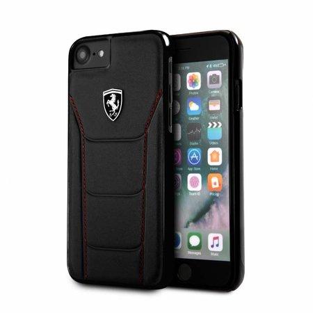 Ferrari Achterkant voor Apple iPhone 7-8 -  Zwart (3700740401484)