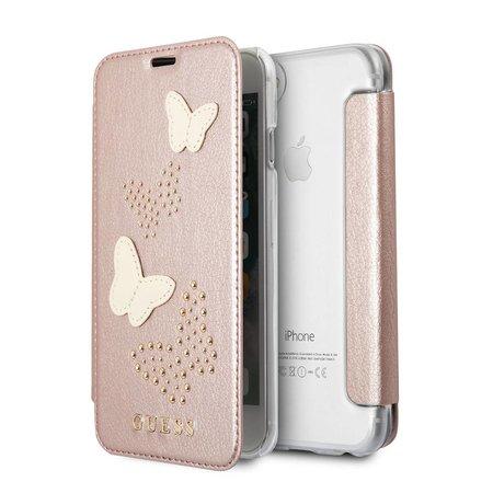 Guess Booktype voor Apple iPhone 7-8  - Goud (3700740407448)