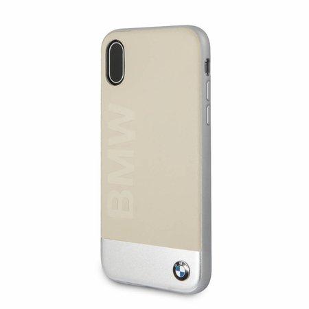 BMW Achterkant voor Apple iPhone X-Xs  -  Zilver (3700740409138)