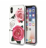 Guess Achterkant voor Apple iPhone X-Xs  -  Transprant (3700740406861)