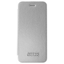 Guess Booktype voor Apple iPhone 7-8  - Zilver (3700740397787)