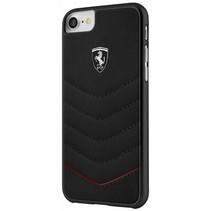 Ferrari Achterkant voor Apple iPhone 7-8Plus  -  Zwart (3700740398562)