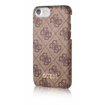 Guess Achterkant voor Apple iPhone 7-8Plus  -  Bruin (3700740386743)