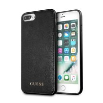 Guess Achterkant voor Apple iPhone 7-8Plus  -  Zwart (3700740417522)