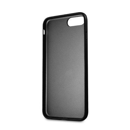 Guess Achterkant voor Apple iPhone 7-8Plus  -  Zwart (3700740417522)