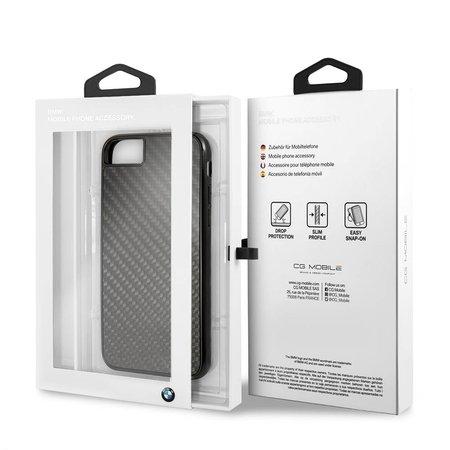 BMW Achterkant voor Apple iPhone 7-8 -  Zwart (3700740414972)