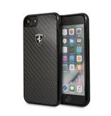 Ferrari Achterkant voor Apple iPhone 7-8 -  Zwart (3700740415955)