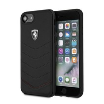Ferrari Achterkant voor Apple iPhone 7-8 -  Zwart (3700740415993)