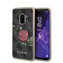 Guess Achterkant voor Samsung Galaxy S9  -  Grijs (3700740429839)