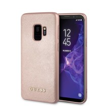 Guess Achterkant voor Samsung Galaxy S9  -  Rose Gold (3700740426869)