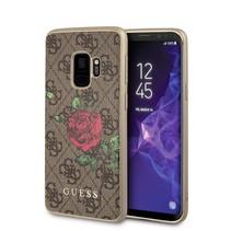 Guess Achterkant voor Samsung Galaxy S9  -  Bruin (3700740429792)