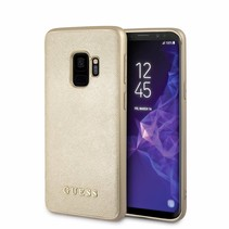 Guess Achterkant voor Samsung Galaxy S9  -  Goud (3700740426821)