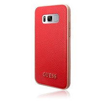 Guess Achterkant voor Samsung Galaxy S8 Plus  -  Rood (3700740400357)