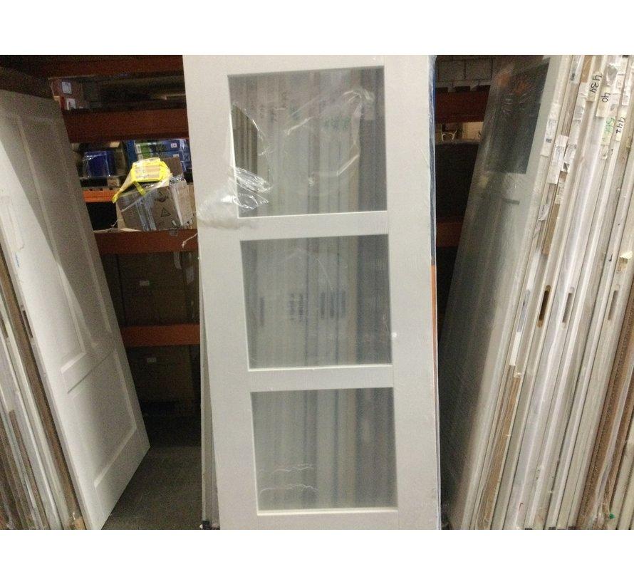 Cando binnendeur 3 vaks deur 88x211,5 cm