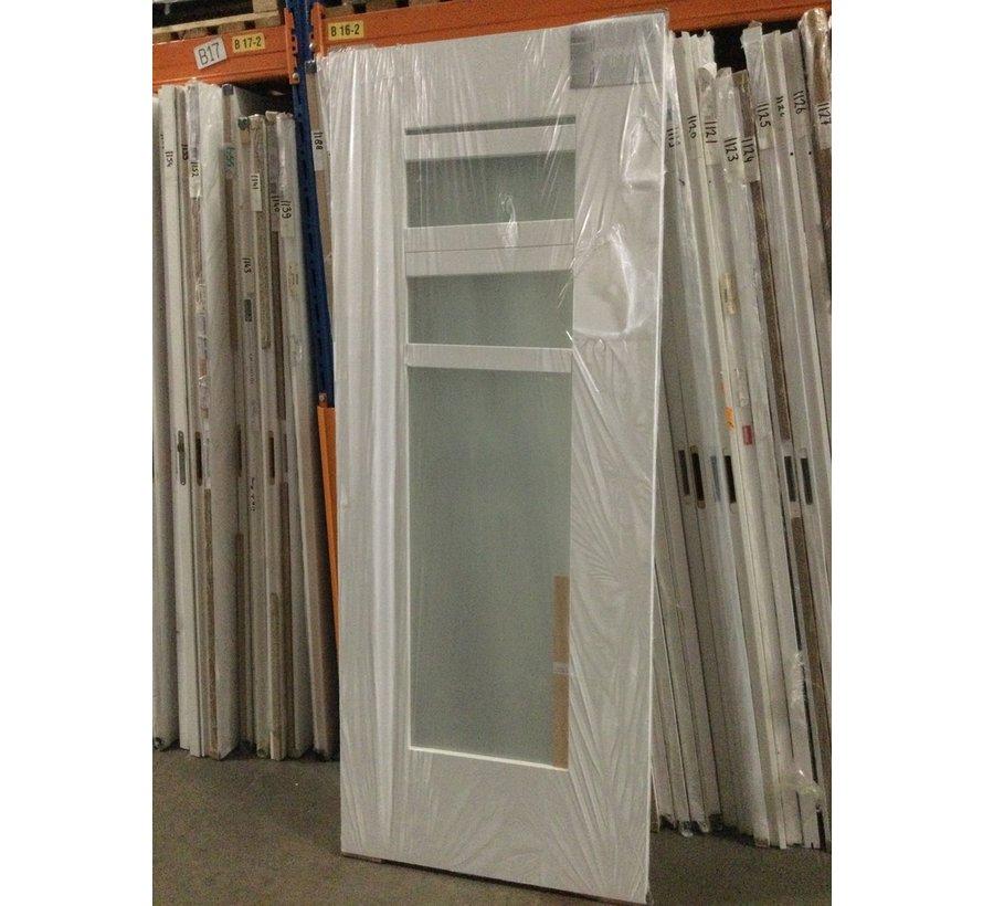 Cando binnendeur blank glas 83x211,5 cm