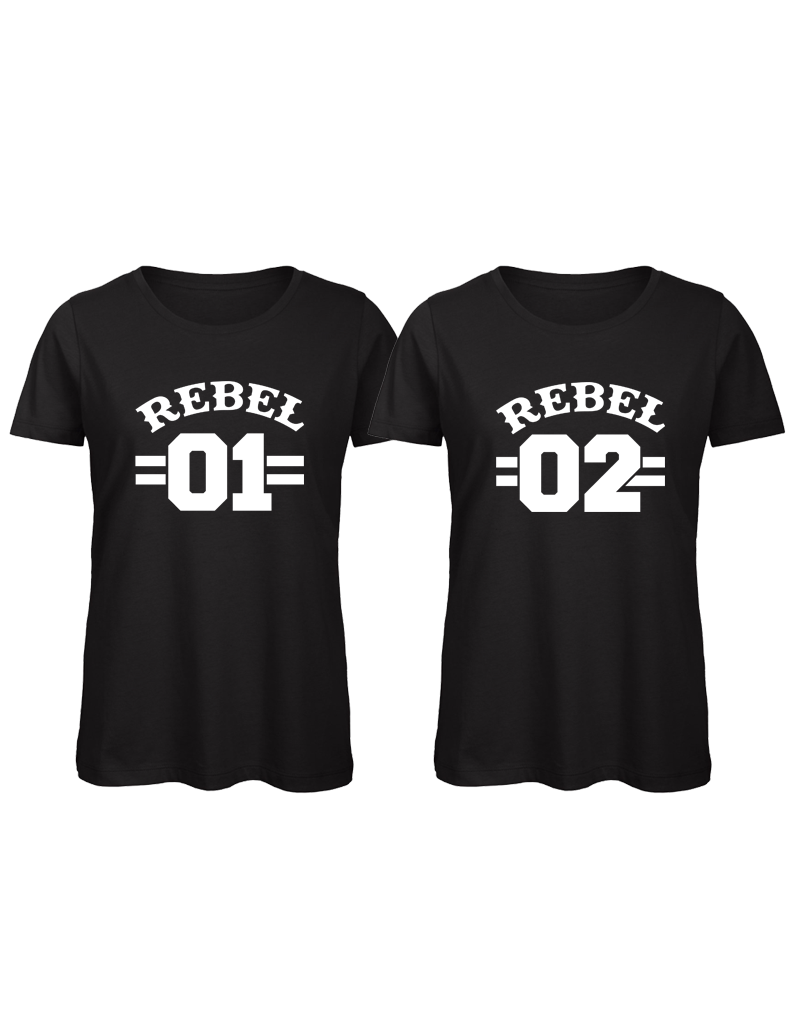 UMustHave Shirt los set | Rebel 01 en Rebel 02