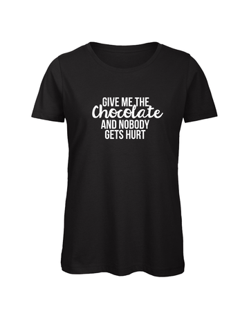UMustHave Shirt los | Give me the chocolate and nobody gets hurt