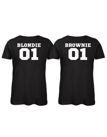 UMustHave Shirt los set | Blondie 01 & Brownie 01
