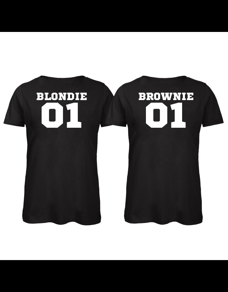 UMustHave Shirt los set | Blondie 01 & Brownie 01
