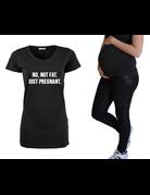 UMustHave Zwangerschapsshirt | No not fat, just pregnant