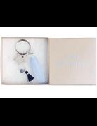 UMustHave Sleutelhanger | Ibiza star feather blue