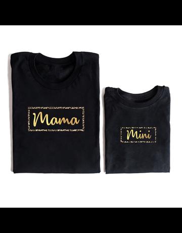 UMustHave Twinning | Mama en mini leopard gold