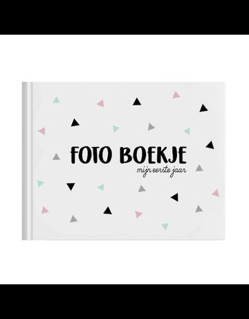 UMustHave Boeken | Foto boekje eerste jaar meisje