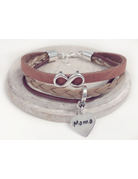 UMustHave Armband | Leather mix