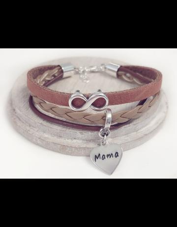 UMustHave Armband | Leather mix