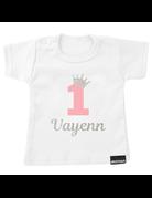 UMustHave Shirt | Verjaardag kroontje zilver