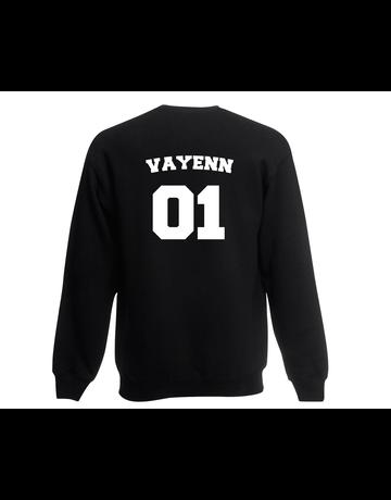 UMustHave Sweater kind   Naam en nummer