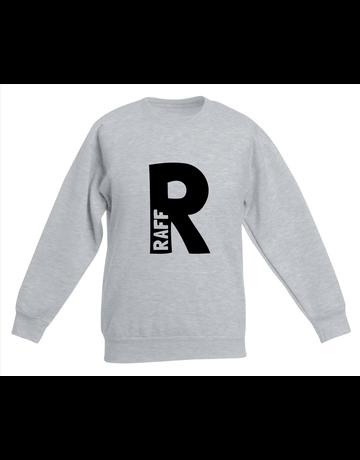 UMustHave Sweater kind   Naam in initiaal