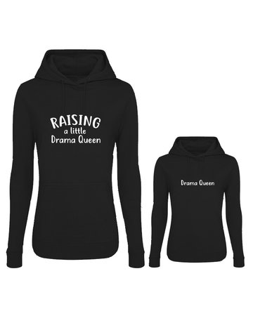 UMustHave Twinning hoodies | Raising a little drama queen