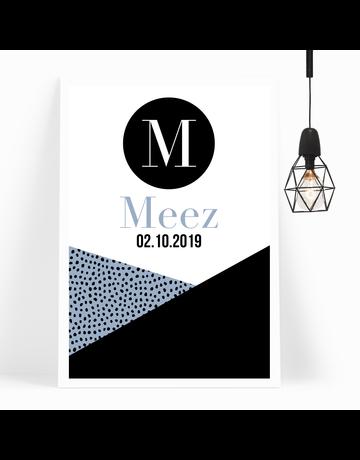 BrandLux Poster | Blue dots