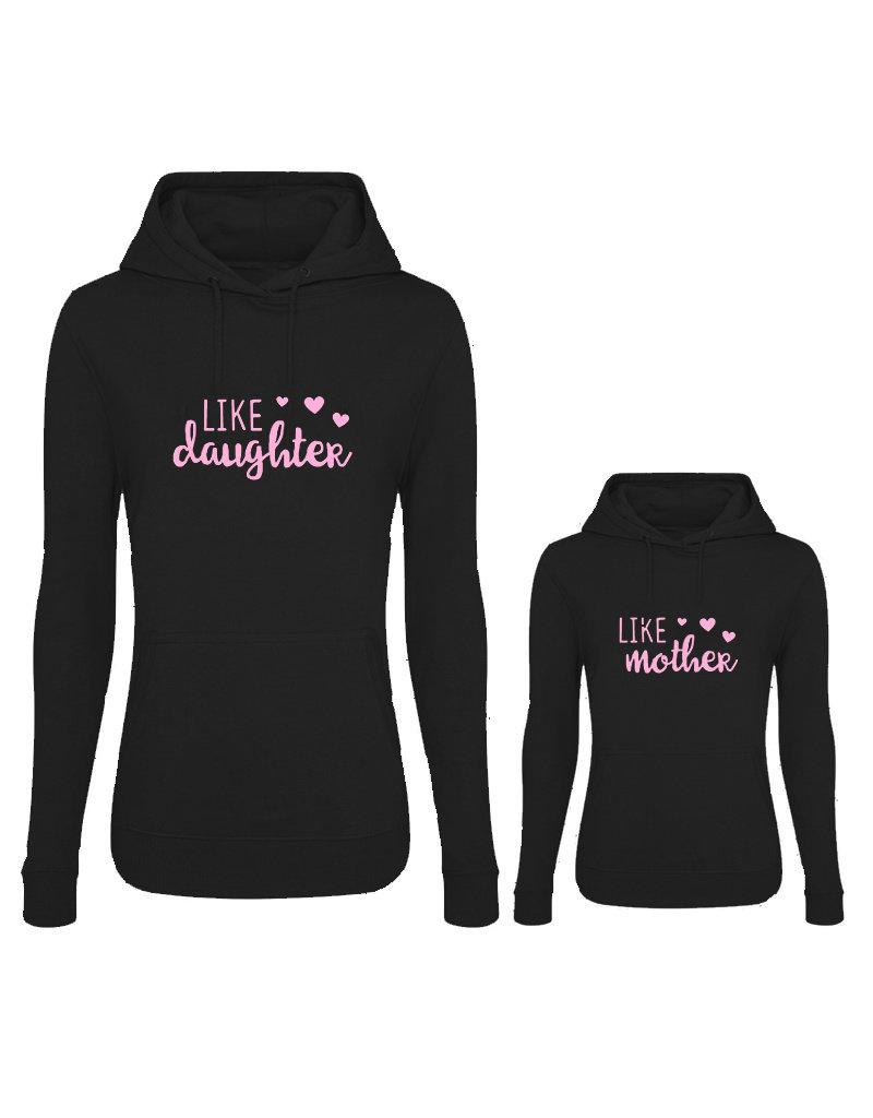 UMustHave Twinning hoodies | Like mother, like daughter