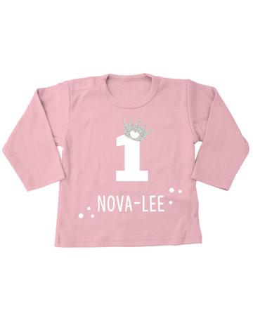 UMustHave Shirt | Verjaardag kroontje roze