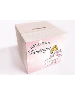 BrandLux Spaarpot   Tandenfee roze ster