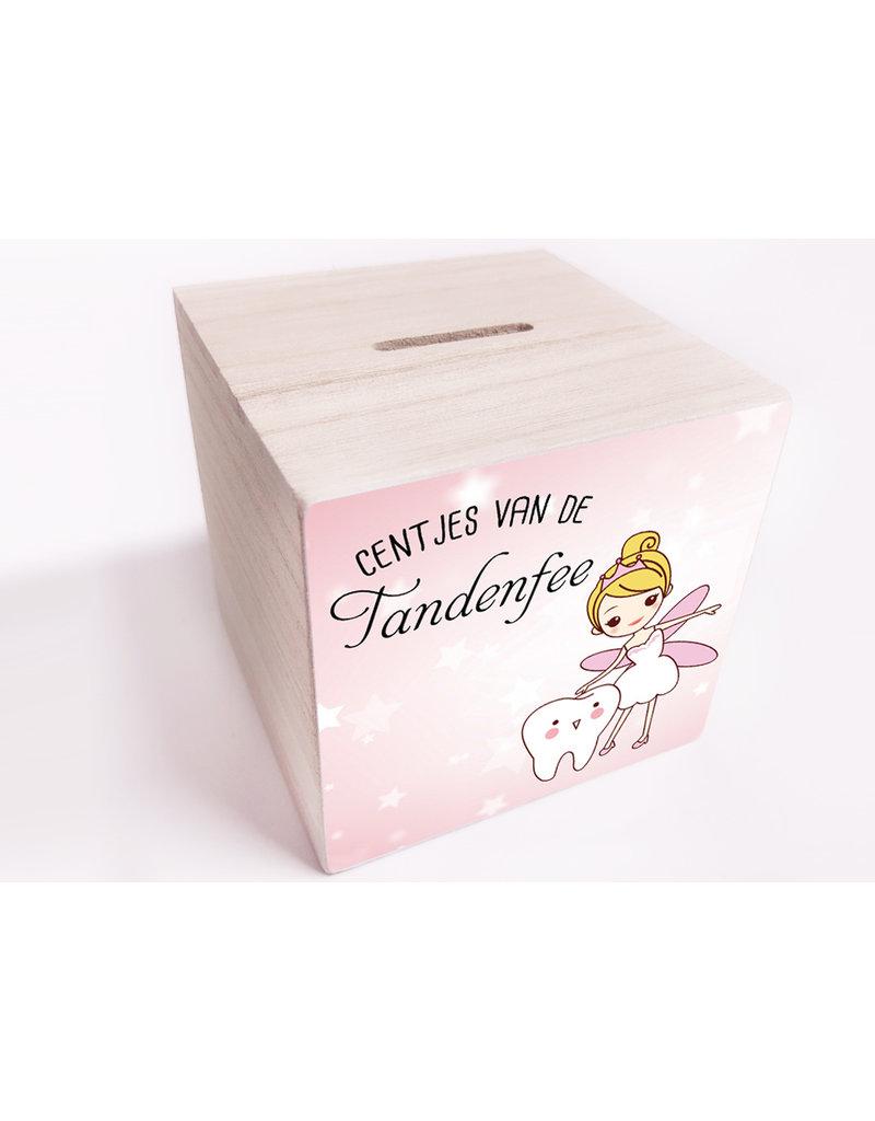 BrandLux Spaarpot | Tandenfee roze ster