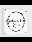 UMustHave Naambordje | Three cirkles