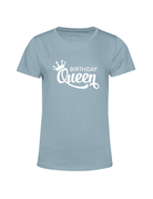 UMustHave T-shirt verjaardag soft blue | Birthday Queen