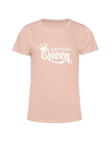 UMustHave T-shirt verjaardag soft pink | Birthday Queen