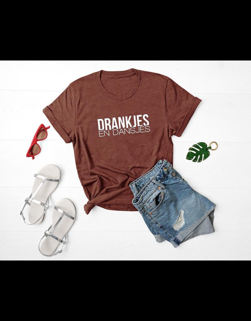 UMustHave Shirt los clay | Drankjes en dansjes