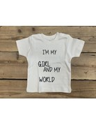 UMustHave Shirt Kind |6/12M | I'm my girl and my world