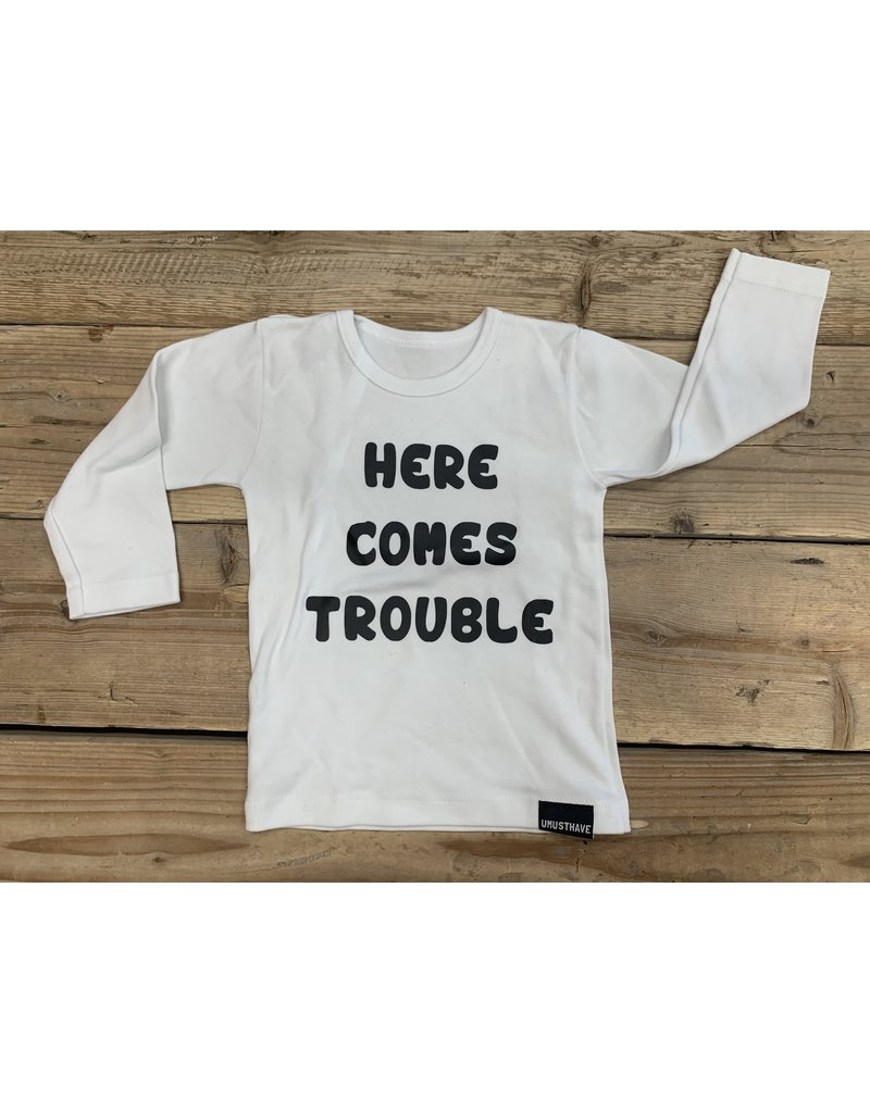 UMustHave Sale Shirt Kind | 86/92 | Here comes trouble