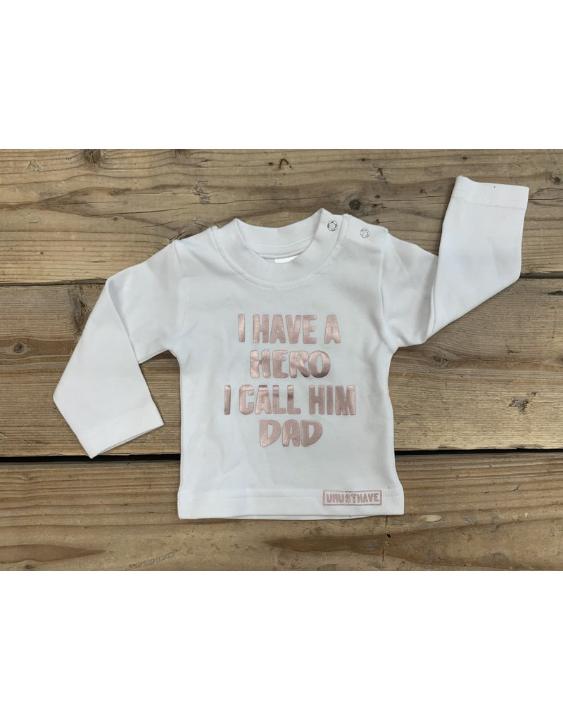 UMustHave Sale Shirt Kind | 50/56| I have a hero I call him dad