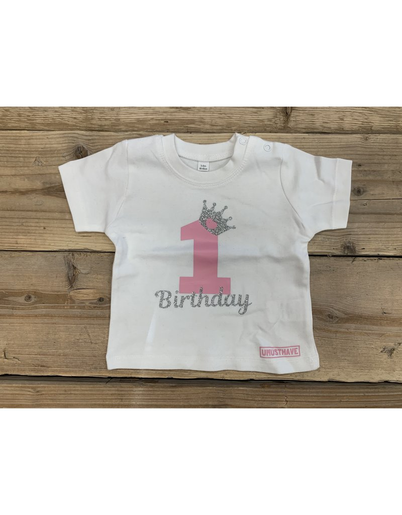 UMustHave Sale Shirt Kind | 3/6M | 1ste birthday