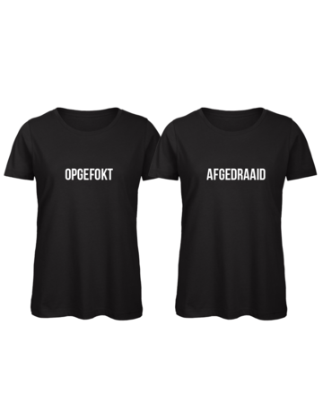 UMustHave Shirt los set | Opgefokt & afgedraaid