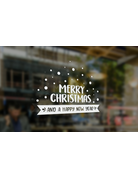 BrandLux Deursticker | merry christmas