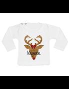 UMustHave Shirt kerst | rendier met naam